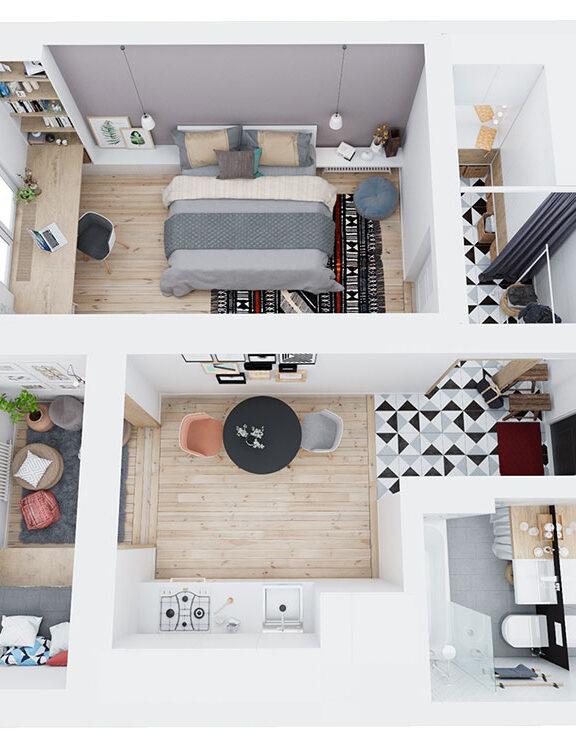 Come sfruttare al massimo gli spazi in una casa piccola